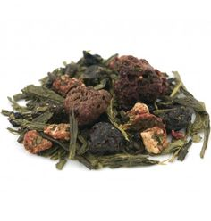 The Tea Emporium - Garden of Eden [A delicate Japanese Sencha blended with forest fruits including raspberries, strawberries and blueberries. Light and vegetative with beautiful fruity notes. Makes an unbelievable iced tea!]