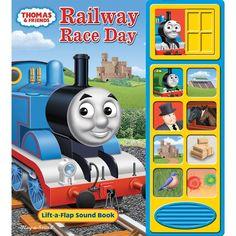Thomas Railway Race Day Sound Book