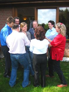 Outdoor-Teamübung im Workshop