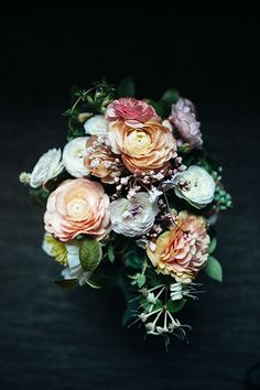 Colorful Bridal Bouquet | Brides.com