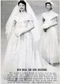 vikki vintage on Etsy! Research for the vintage weddings posts has been so much fun! Bride Gowns, Wedding Gowns, Short Veil, Long Sleeve Gown, Black Weddings, Vintage Weddings, Illusion Neckline, New Trends, Vintage Black