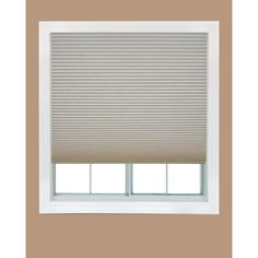Redi Shade Trim-at-Home Easy Lift Natural 9/16 in. Cordless Light Filtering Cellular Shade - 48 in. W x 64 in. L - 2508663 at The Home Depot