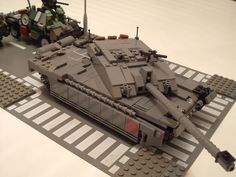 Lego military 047 by Babalas Shipyards, via Flickr