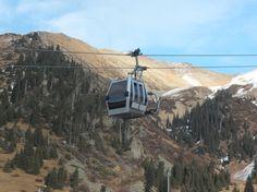 카자흐스탄, 알마티 : 천산 케이블카(곤돌라)  Medeu (Medeo) Gondola Ropeway, Almaty, Kazakhstan