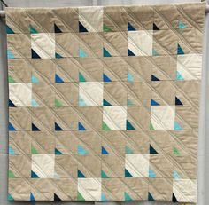 Sea Glass on Sand Made and Quilted by Felicity Ronaghan Vancouver, British Columbia, Canada Vancouver Modern Quilt Guild