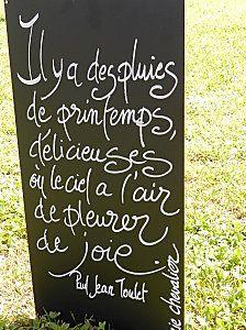 Tableau philosophique par Marie Chevalier