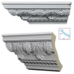 Shop for Acanthus and Dentil 5.5-inch Crown Molding (8 pack). Get free delivery at Overstock.com - Your Online Home Improvement Shop!…