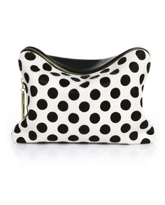 31 Minute Polka Dot Cosmetic Case by 3.1 Phillip Lim