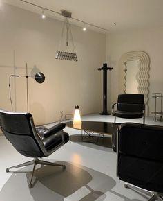 Office Interior Design, Interior Design Inspiration, Interior Decorating, Bauhaus Interior, Interior Architecture, Bauhaus Furniture, Minimalist Room, Minimalist Interior, Home Room Design