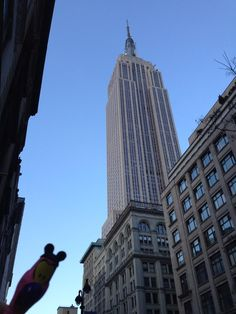 #nyc #floydtheflamingo @floydtravels #newyork #empirestate