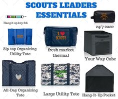 Thirty-One for cub scout and boy scouts leaders.  #scouts www.mythirtyone.com/apeterson86