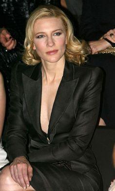 Paris Fashion Week Haute Couture Spring/Summer 2007 - Giorgio Armani Prive - January 24th, 2007 - 001 - Cate Blanchett Fan | Cate Blanchett Gallery