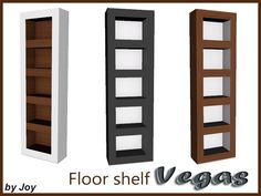 Floor Shelf  Found in TSR Category 'Sims 4 Miscellaneous Surfaces'