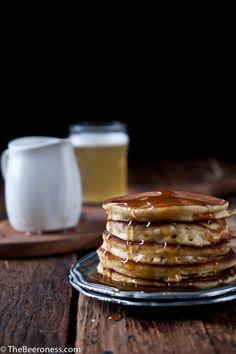 buttermilk beer pancakes