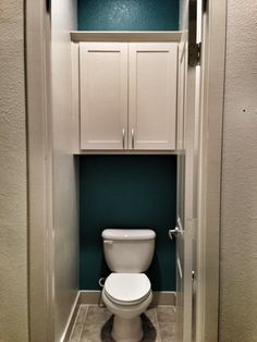 Turquoise Bathroom Accent Wall