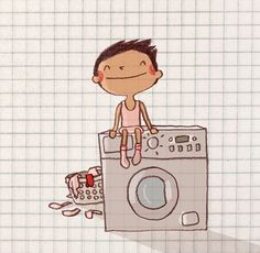 Pink Laundry by Anneka Tran, via Flickr
