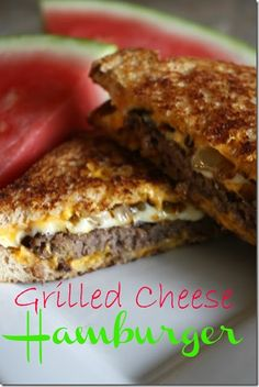 15 Amazing Grilled Cheese Sandwich Recipes - Good Recipes Online can you say YUM Think Food, I Love Food, Good Food, Yummy Food, Delicious Recipes, Grill Cheese Sandwich Recipes, Soup And Sandwich, Cheese Burger, Sandwich Maker Recipes