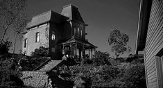 Bates motel | univ psycho frame a The Bates Motel Home: The Scariest Movie Home of ...