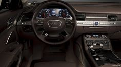2013 Audi A8 US-Version Wallpaper