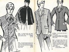 Modern Man, Carnaby St, Menswear Mail Order Catalogue, 1967 - Retronaut