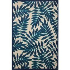 Nourison Aloha Navy Indoor/Outdoor Area Rug (Common: 3 x Actual: W x L) at Lowe's. This sunny and sensational collection of flat woven indoor/outdoor rugs is pretty, practical and simply perfect for high traffic areas. With its inviting Navy Home Decor, Coastal Decor, Coastal Rugs, Coastal Curtains, Coastal Entryway, Coastal Bedding, Modern Coastal, Coastal Furniture, Coastal Style