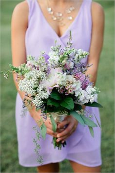 Perfectly Purple BouquetCreditsFlowers: CedarwoodPhotographers: Kristyn HoganCreditsClick view post to find your bouquet recipe!View PostBouquet Recipe