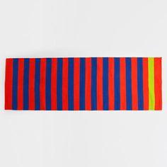 ORANGE STRIPED RUG - Rugs - Decoration | Zara Home Turkey