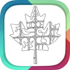 NEW IOS APP Abstract Color Pages For AdultsAntistress Therapy