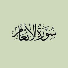 سورة الأنعام : قراءة : محمد المنشاوي