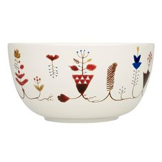 Sarjaton bowl 0,33 L, Varpu white, by Iittala.