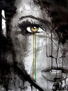 "Saatchi Art Artist LOUI JOVER; Drawing, ""survive"" #art"