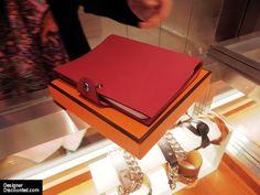 Hermes Ulysse Notebook Cover. Everyday luxury :) ~ hopefully birthday present :)