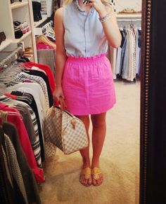 Oh my gosh! I have seen this skirt EVERYWHERE! And I was about to buy it when mom said it was ugly.