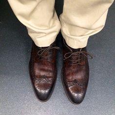 Club Monaco pants + Magnanni shoes