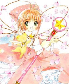 CLAMP, Cardcaptor Sakura, Kero-chan, Kinomoto Sakura, Wand, Sealing Wand (Star Form)