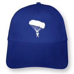 Fallschirmspringer Kappe. Fallschirmspringer Kappe, Einheitsgröße, Flexdruck