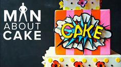 KAPOW! Pop (t)Art Cake in 3D | Man About Cake with Joshua John Russell - YouTube