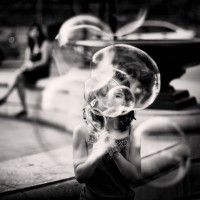 "Photo Scrap: / Photo ""Rose-tinted bubbles"" by Tatiana Avdjiev Black And White Portraits, Black White Photos, Street Photography, Portrait Photography, White Photography, What Day Is It, Photo Awards, Creative Portfolio, Life Is Like"