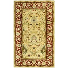 Safavieh Persian Legend Ivory/Rust Area Rug & Reviews | Wayfair