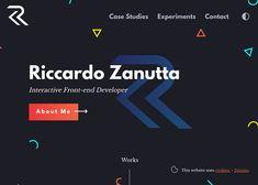 Riccardo Zanutta - Interactive Frontend Developer - Awwwards Site Of The Day - Awwwards