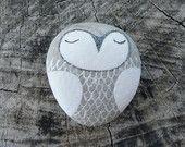 Beach Stone Owl