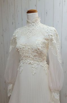 Charming Wedding Dresses, White A-line High Neck Bridal Gowns, Long Sleeves Bridal Dresses. 226 Six Arrow hoodie Bustier Bridal Wedding Dress Wedding Dress With Veil, Wedding Dresses With Straps, Sweetheart Wedding Dress, Wedding Dress Styles, Bride Dresses, Wedding Bouquet, 1970s Wedding Dress, High Neck Wedding Dresses, Gown Wedding