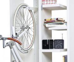 Image result for ideas para guardar bicicletas en casa