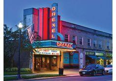 Drexel Theatre, Bexley, Ohio | #ArtDeco #preservation