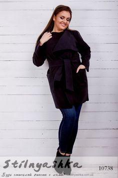 Укороченное кашемировое пальто для полных бакдажан - купить оптом и розницу  в Украине. Интернет- 939d5f05e097a