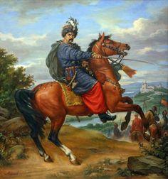 Ivan Bohun was put to death on this date in Bohun was a Ukrainian-Cossack colonel. Ukrainian Art, Historical Art, Fantasy Warrior, Russian Art, Gravure, Art Techniques, Painting Inspiration, Art History, Renaissance