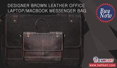aab242cb467 Buy Genuine Cowhide Leather Laptop Bags Online at India s First Online  Leather Store - BeltKart.