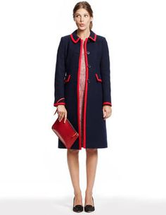 OMG, how cute is this Kate Coat I found on            Boden's website? Placing my order as we speak,           I am not letting this one get away.