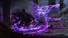 The Summoning of Israfil by HFesbra on deviantART Fantasy Concept Art, Dark Fantasy Art, Fantasy Artwork, Arte Obscura, My Fantasy World, Magic Art, Fantasy Inspiration, Medieval Fantasy, Fantasy Creatures