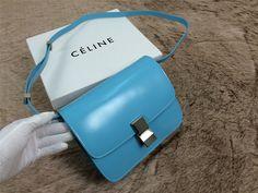 celine classic box sky blue